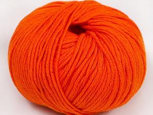 Fiber Content 50% Cotton, 50% Acrylic, Light Orange, Brand Ice Yarns, Yarn Thickness 2 Fine  Sport, Baby, fnt2-62401