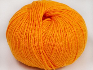 Fiber Content 50% Cotton, 50% Acrylic, Light Orange, Brand Ice Yarns, Yarn Thickness 2 Fine  Sport, Baby, fnt2-62402