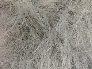 Fiber Content 100% Polyamide, Light Grey, Brand Ice Yarns, Yarn Thickness 4 Medium  Worsted, Afghan, Aran, fnt2-62457