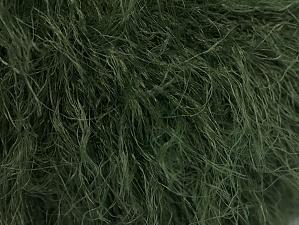 Fiber Content 100% Polyamide, Brand Ice Yarns, Dark Green, Yarn Thickness 4 Medium  Worsted, Afghan, Aran, fnt2-62466