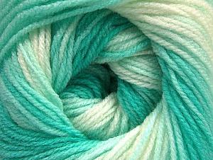 Περιεχόμενο ίνας 100% Baby Ακρυλικό, White, Mint Green, Brand Ice Yarns, Yarn Thickness 2 Fine  Sport, Baby, fnt2-62538