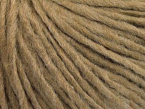 Fiber Content 50% Acrylic, 50% Wool, Light Brown, Brand Ice Yarns, Yarn Thickness 4 Medium  Worsted, Afghan, Aran, fnt2-62557