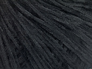 Fiber Content 100% Polyester, Brand Ice Yarns, Black, Yarn Thickness 1 SuperFine  Sock, Fingering, Baby, fnt2-62605