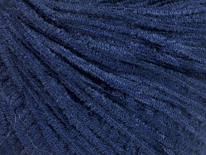Fiber Content 100% Polyester, Navy, Brand Ice Yarns, Yarn Thickness 1 SuperFine  Sock, Fingering, Baby, fnt2-62615