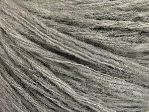 Fiber Content 50% Wool, 50% Acrylic, Light Grey, Brand Ice Yarns, Yarn Thickness 4 Medium  Worsted, Afghan, Aran, fnt2-62710