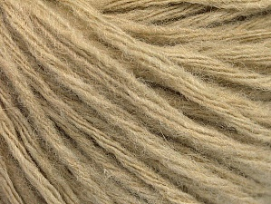Fiber Content 50% Wool, 50% Acrylic, Brand Ice Yarns, Beige, Yarn Thickness 4 Medium  Worsted, Afghan, Aran, fnt2-62711
