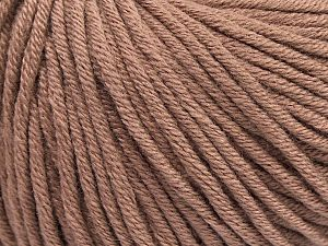 Fiber Content 50% Cotton, 50% Acrylic, Brand Ice Yarns, Camel, Yarn Thickness 3 Light  DK, Light, Worsted, fnt2-62733