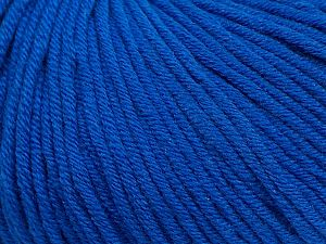 Fiber Content 50% Cotton, 50% Acrylic, Brand Ice Yarns, Blue, Yarn Thickness 3 Light  DK, Light, Worsted, fnt2-62746