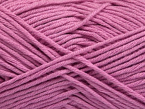 Fiber Content 50% Cotton, 50% Acrylic, Orchid, Brand Ice Yarns, Yarn Thickness 3 Light  DK, Light, Worsted, fnt2-62752