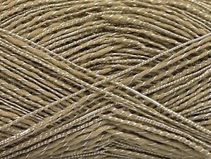 Fiber Content 65% Acrylic, 35% Viscose, Brand Ice Yarns, Dark Beige, Yarn Thickness 2 Fine  Sport, Baby, fnt2-62761
