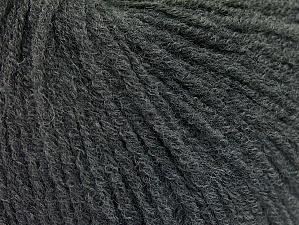 Fiber Content 60% Acrylic, 40% Wool, Brand Ice Yarns, Dark Grey, Yarn Thickness 2 Fine  Sport, Baby, fnt2-62768