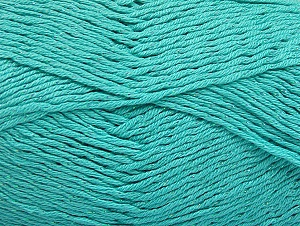 Fiber Content 49% Premium Acrylic, 49% Cotton, 2% Metallic Lurex, Light Turquoise, Brand Ice Yarns, Yarn Thickness 2 Fine  Sport, Baby, fnt2-62896
