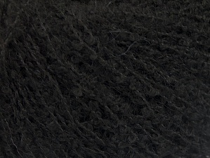 Fiber Content 25% Acrylic, 25% Wool, 25% Polyamide, 25% Alpaca, Brand Ice Yarns, Black, Yarn Thickness 2 Fine  Sport, Baby, fnt2-62954