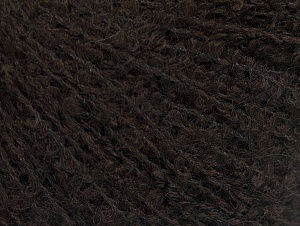 Fiber Content 25% Polyamide, 25% Alpaca, 25% Acrylic, 25% Wool, Brand Ice Yarns, Dark Brown, Yarn Thickness 2 Fine  Sport, Baby, fnt2-62955