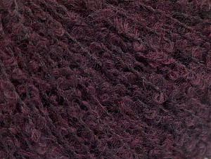 Fiber Content 25% Polyamide, 25% Alpaca, 25% Acrylic, 25% Wool, Brand Ice Yarns, Dark Maroon, Yarn Thickness 2 Fine  Sport, Baby, fnt2-62956