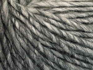 Fiber Content 50% Acrylic, 50% Wool, Brand Ice Yarns, Grey Shades, Yarn Thickness 4 Medium  Worsted, Afghan, Aran, fnt2-62989