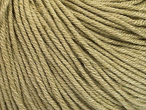 Fiber Content 60% Cotton, 40% Acrylic, Light Khaki, Brand Ice Yarns, Yarn Thickness 2 Fine  Sport, Baby, fnt2-63000