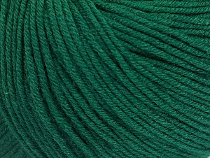 Fiber Content 60% Cotton, 40% Acrylic, Brand Ice Yarns, Dark Green, Yarn Thickness 2 Fine  Sport, Baby, fnt2-63002