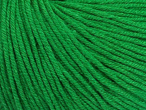 Fiber Content 60% Cotton, 40% Acrylic, Brand Ice Yarns, Green, Yarn Thickness 2 Fine  Sport, Baby, fnt2-63003