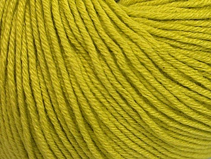 Fiber Content 60% Cotton, 40% Acrylic, Light Olive Green, Brand Ice Yarns, Yarn Thickness 2 Fine Sport, Baby, fnt2-63017