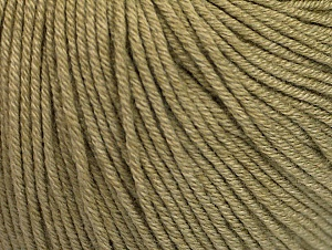 Fiber Content 60% Cotton, 40% Acrylic, Light Khaki, Brand Ice Yarns, Yarn Thickness 2 Fine  Sport, Baby, fnt2-63018