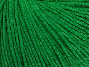Fiber Content 60% Cotton, 40% Acrylic, Brand Ice Yarns, Green, Yarn Thickness 2 Fine Sport, Baby, fnt2-63021