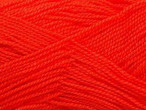 Fiber Content 100% Acrylic, Neon Orange, Brand Ice Yarns, Yarn Thickness 1 SuperFine  Sock, Fingering, Baby, fnt2-63092