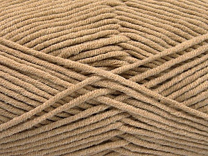 Fiber Content 55% Cotton, 45% Acrylic, Brand Ice Yarns, Beige, Yarn Thickness 4 Medium  Worsted, Afghan, Aran, fnt2-63101
