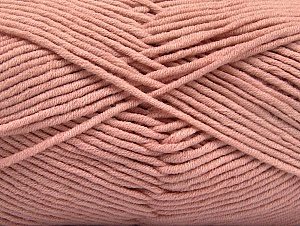 Fiber Content 55% Cotton, 45% Acrylic, Powder Pink, Brand Ice Yarns, Yarn Thickness 4 Medium  Worsted, Afghan, Aran, fnt2-63102