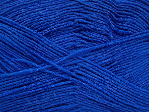 Fiber Content 55% Cotton, 45% Acrylic, Brand Ice Yarns, Blue, Yarn Thickness 1 SuperFine  Sock, Fingering, Baby, fnt2-63115