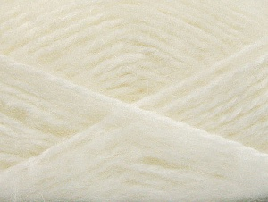 SuperBulky  Fiber Content 70% Acrylic, 30% Angora, White, Brand Ice Yarns, Yarn Thickness 6 SuperBulky  Bulky, Roving, fnt2-63122
