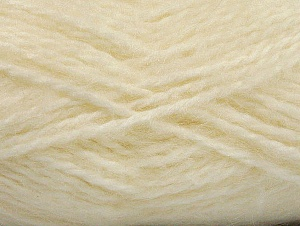 SuperBulky  Fiber Content 70% Acrylic, 30% Angora, Brand Ice Yarns, Cream, Yarn Thickness 6 SuperBulky  Bulky, Roving, fnt2-63123