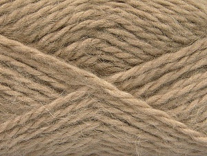 SuperBulky  Fiber Content 70% Acrylic, 30% Angora, Brand Ice Yarns, Camel, Yarn Thickness 6 SuperBulky  Bulky, Roving, fnt2-63124