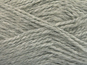 SuperBulky  Fiber Content 70% Acrylic, 30% Angora, Light Grey, Brand Ice Yarns, Yarn Thickness 6 SuperBulky  Bulky, Roving, fnt2-63125