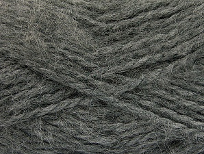 SuperBulky  Fiber Content 70% Acrylic, 30% Angora, Brand Ice Yarns, Grey, Yarn Thickness 6 SuperBulky  Bulky, Roving, fnt2-63126