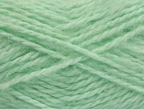 SuperBulky  Fiber Content 70% Acrylic, 30% Angora, Mint Green, Brand Ice Yarns, Yarn Thickness 6 SuperBulky  Bulky, Roving, fnt2-63130