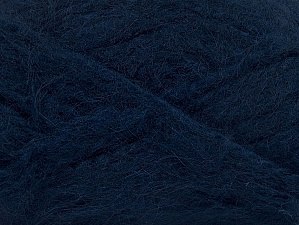 SuperBulky  Fiber Content 70% Acrylic, 30% Angora, Navy, Brand Ice Yarns, Yarn Thickness 6 SuperBulky  Bulky, Roving, fnt2-63134