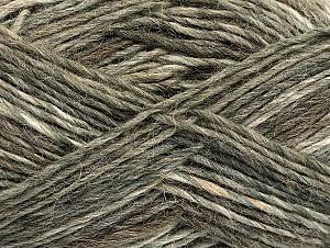 Fiber Content 60% Wool, 40% Acrylic, Brand Ice Yarns, Brown Shades, fnt2-63158