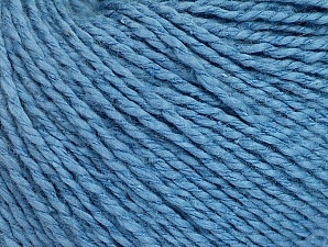 Fiber Content 68% Cotton, 32% Silk, Brand Ice Yarns, Blue, Yarn Thickness 2 Fine  Sport, Baby, fnt2-63192