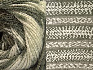 Fiber Content 70% Acrylic, 30% Wool, Khaki, Brand Ice Yarns, Cream, Beige, Yarn Thickness 3 Light  DK, Light, Worsted, fnt2-63212