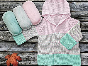 Fiber Content 100% Antipilling Acrylic, Mint Green, Brand Ice Yarns, Baby Pink, Yarn Thickness 4 Medium  Worsted, Afghan, Aran, fnt2-63232