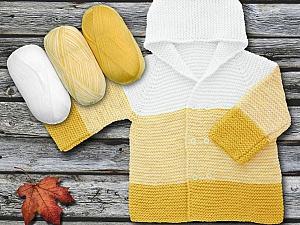 Fiber Content 100% Antipilling Acrylic, Yellow, White, Brand Ice Yarns, Yarn Thickness 4 Medium  Worsted, Afghan, Aran, fnt2-63243