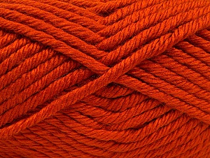 Fiber Content 100% Acrylic, Orange, Brand Ice Yarns, Yarn Thickness 6 SuperBulky  Bulky, Roving, fnt2-63249