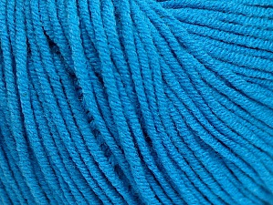 Fiber Content 50% Acrylic, 50% Cotton, Brand Ice Yarns, Blue, Yarn Thickness 3 Light  DK, Light, Worsted, fnt2-63340