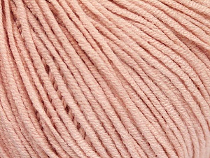 Fiber Content 50% Cotton, 50% Acrylic, Powder Pink, Brand Ice Yarns, Yarn Thickness 3 Light  DK, Light, Worsted, fnt2-63341