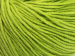 Fiber Content 50% Acrylic, 50% Cotton, Light Green, Brand Ice Yarns, Yarn Thickness 3 Light  DK, Light, Worsted, fnt2-63343