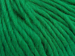 Fiber Content 100% Wool, Brand Ice Yarns, Green, Yarn Thickness 5 Bulky  Chunky, Craft, Rug, fnt2-63344