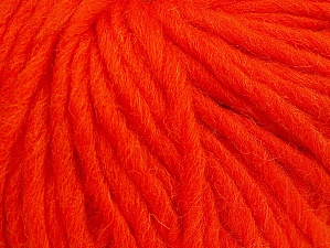 Fiber Content 100% Wool, Orange, Brand Ice Yarns, Yarn Thickness 5 Bulky  Chunky, Craft, Rug, fnt2-63345