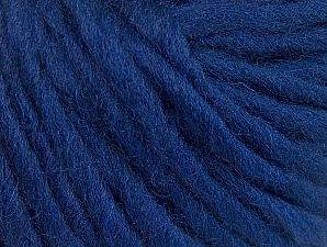 Fiber Content 100% Wool, Navy, Brand Ice Yarns, Yarn Thickness 5 Bulky  Chunky, Craft, Rug, fnt2-63348