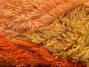 Fiber Content 95% Acrylic, 5% Polyester, Orange, Olive Green, Light Salmon, Brand Ice Yarns, Copper, Yarn Thickness 6 SuperBulky  Bulky, Roving, fnt2-63390